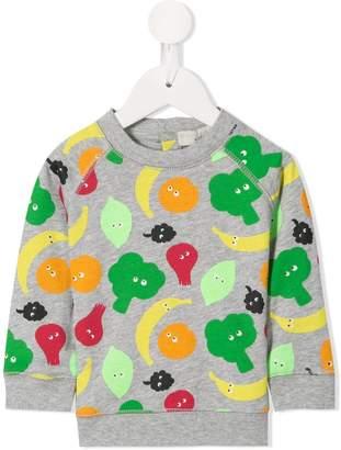 Stella McCartney Veggie print sweater