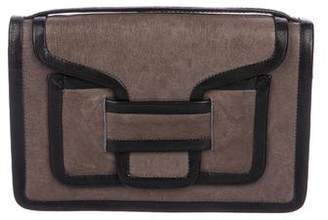 Pierre Hardy Leather Alpha Clutch