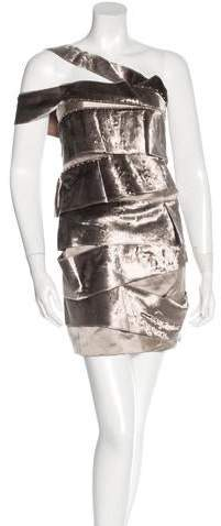 Marc Jacobs Marc Jacobs Velvet Embellished Dress