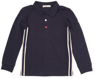 Moncler Stripe Polo Shirt