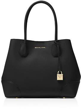 MICHAEL Michael Kors Mercer Gallery Snap Medium Leather Tote