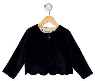 Hucklebones Girls' Velvet Jacket w/ Tags