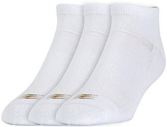 PowerSox Men's 3-Pack Cushion Low Cut Socks with Coolmax