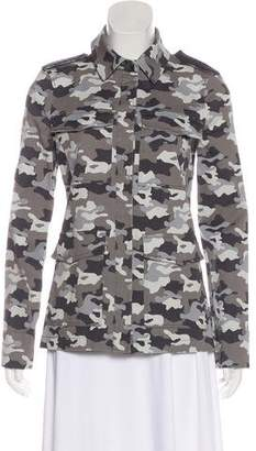 L'Agence Camouflage Casual Jacket