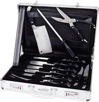 Berghoff Discontinued Forged 12Pc Knife Case Set