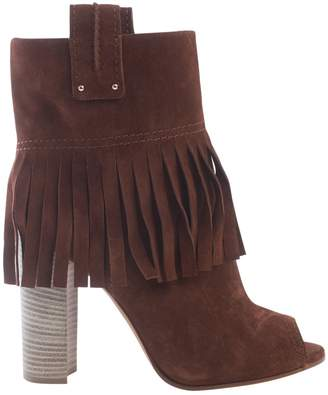 Casadei Brown Suede Ankle boots