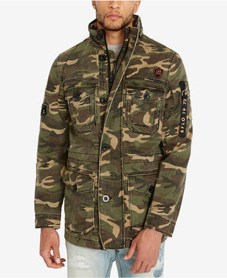 Buffalo David Bitton Men's Jabren Camo Jacket