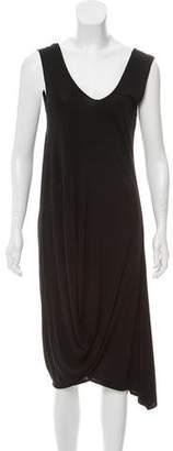 Zero Maria Cornejo Sleeveless Draped Dress