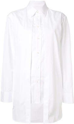 Maison Margiela layered detail shirt