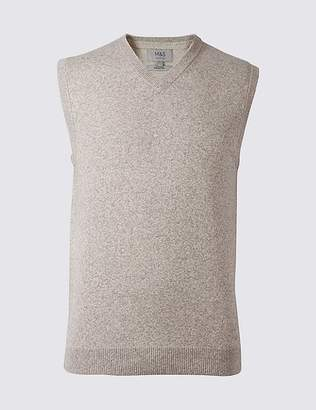 Marks and Spencer Pure Cotton Slipover Jumper