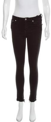 BLK DNM MId-Rise Zip-Accented Jeans