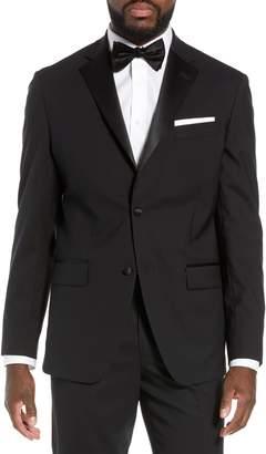 Nordstrom Trim Fit Stretch Wool Tuxedo Jacket