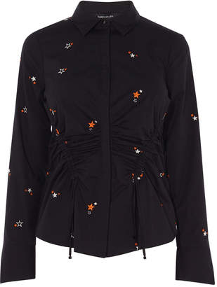 Karen Millen Star Embroidered Shirt