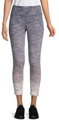 Calvin Klein Ombre High Waist Heathered Leggings