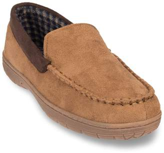 Men's Heat Keep Microsuede Venetian Moccasin Slippers