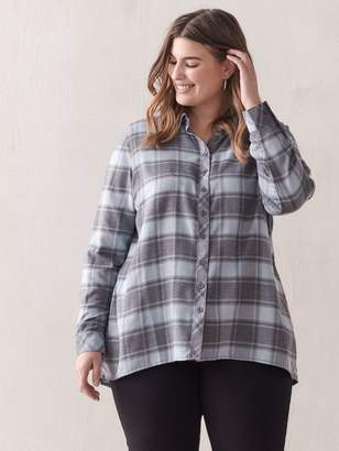 Plaid Tunic Shirt - In Every Story