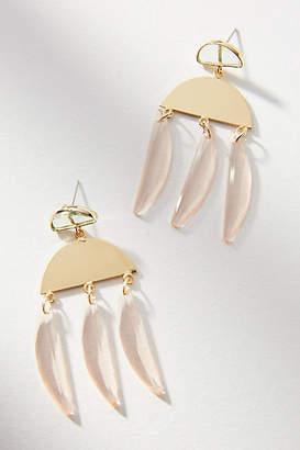 Anthropologie Wind Chime Drop Earrings