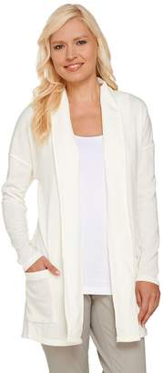 Women With Control Attitudes by Renee Combed Knit Open Front Cardigan