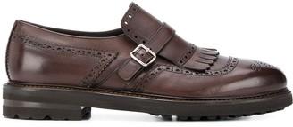 Henderson Baracco monk strap tassel shoes
