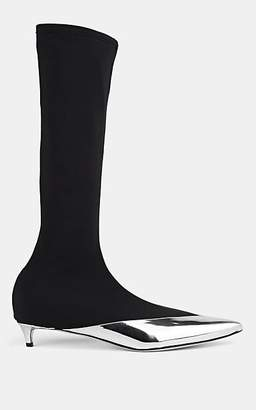 3e41961c5 Givenchy Women s Specchio Leather   Stretch-Microfiber Knee Boots - Silver