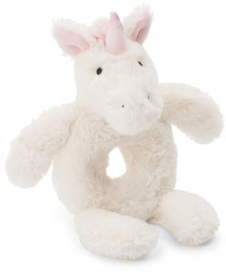 Jellycat Bashful Unicorn Grabber Rattle
