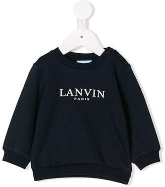 Lanvin Enfant logo sweatshirt