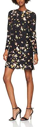 Womens Robe Droite a Manches Longues Party Dress Cacharel He2RtxyQK