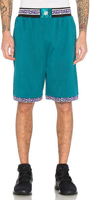 Undefeated Authentic Basketball Short in Teal $70 thestylecure.com
