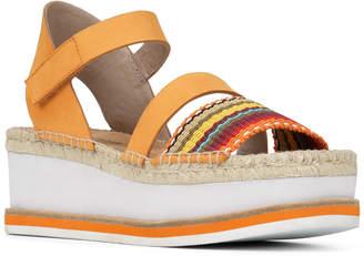 Donald J Pliner Anie Leather Wedge Sandal