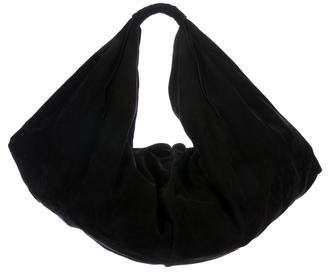 Maison Margiela Whipstitch-Accented Leather Hobo