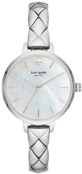 Kate Spade Metro Three-Hand Stainless Steel Watch