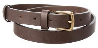 Chloé Leather Skinny Belt