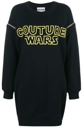 Moschino Wars sweatshirt dress