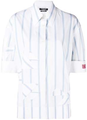 Calvin Klein striped short-sleeve shirt
