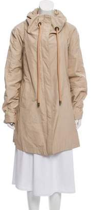 Gianfranco Ferre GF Funnel Neck Short Coat