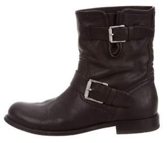 Belstaff Leather Ankle Boots Black Leather Ankle Boots