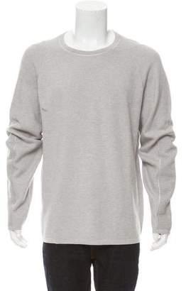 Helmut Lang Waffle Stitch Cashmere-Blend Crew Neck Sweater