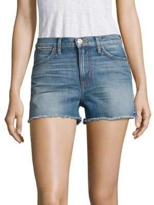 Hudson Soko High-Rise Cut-Off Denim Shorts