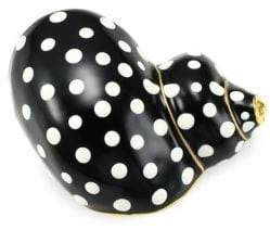 Kenneth Jay Lane Polka Dot Snail Brooch