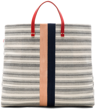 Clare V. Canvas Simple Tote Bag $395 thestylecure.com