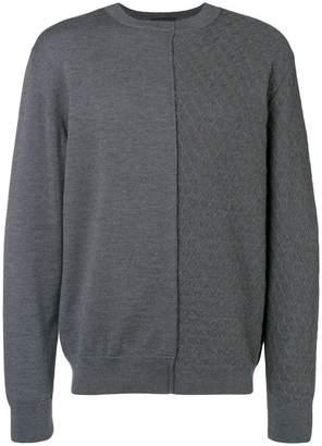 Falke crossed knit jersey sweater