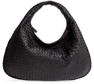 Bottega Veneta Large Veneta Leather Hobo