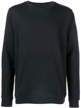 Frankie Morello brand stripe sweatshirt