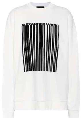 Alexander Wang Oversized cotton sweatshirt