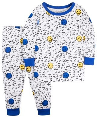 Little Star Organic Cotton Tight Fit Pajamas, 2-piece Set (Baby Boys & Toddler Boys)