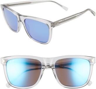 Maui Jim Velzyland 56mm PolarizedPlus2® Square Sunglasses