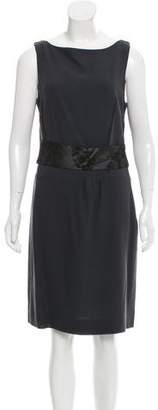 Peter Som Wool Knee-Length Dress