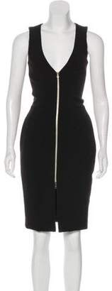 L'Agence Sleeveless Sheath Dress Black Sleeveless Sheath Dress