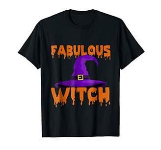 Fabulous Witch Halloween Shirt