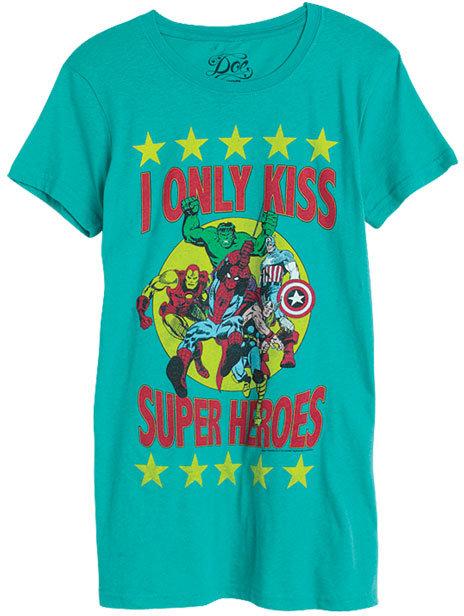 Doe Super Hero Kisses Tee